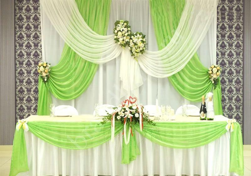Ткань для украшения свадебного зала купить